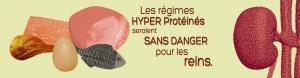 Les régimes hyperprotéinés seraient sans danger pour les reins