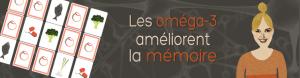 Les oméga-3 améliorent la mémoire des jeunes adultes