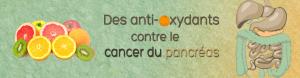 Des antioxydants protègeraient du cancer du pancréas