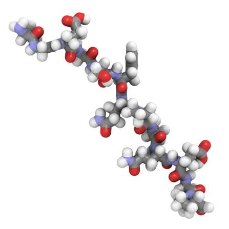 Peptide de gluten