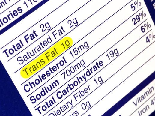 Acides gras trans