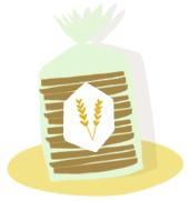 Sachet de blé