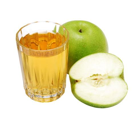 Pommes et jus de pomme