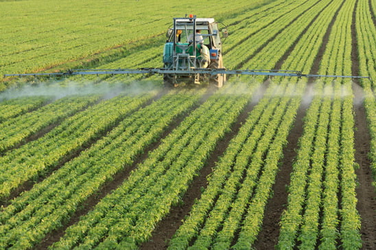 Utilisation de pesticides