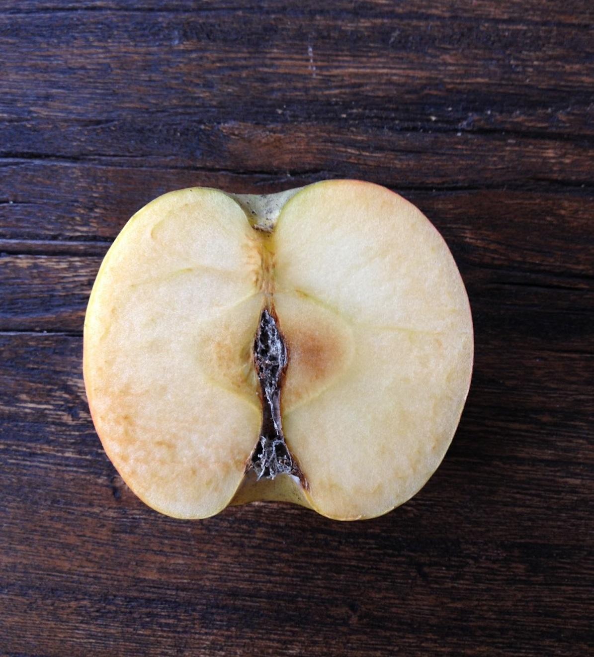 Pomme oxydée