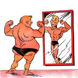 Effet Dunning-Kruger sur sportif
