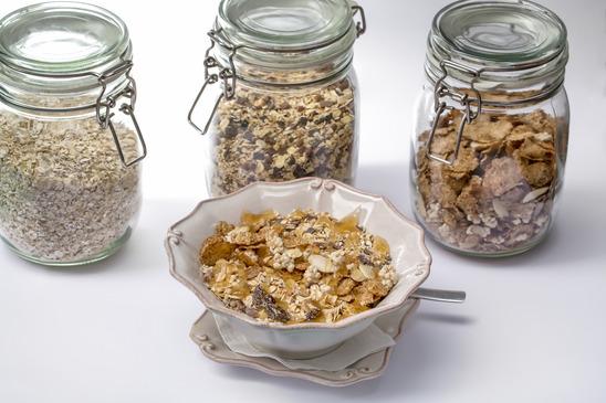 Bocaux de céréales