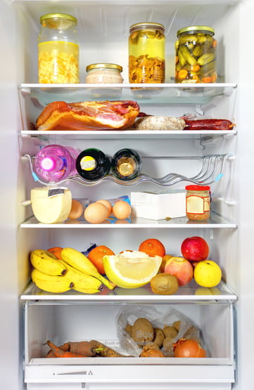 Rangement frigo