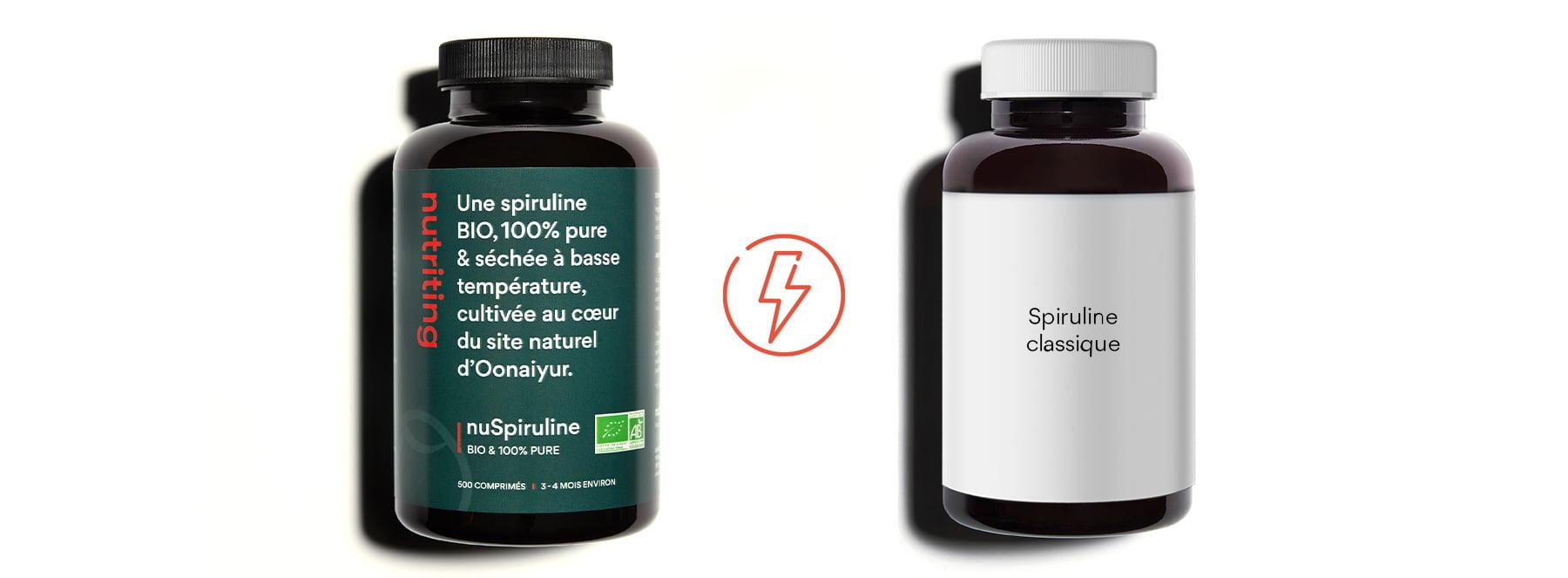 nuSpiruline_versus