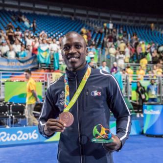 Souleymane Cissokho_Médaille de bronze JO de Rio