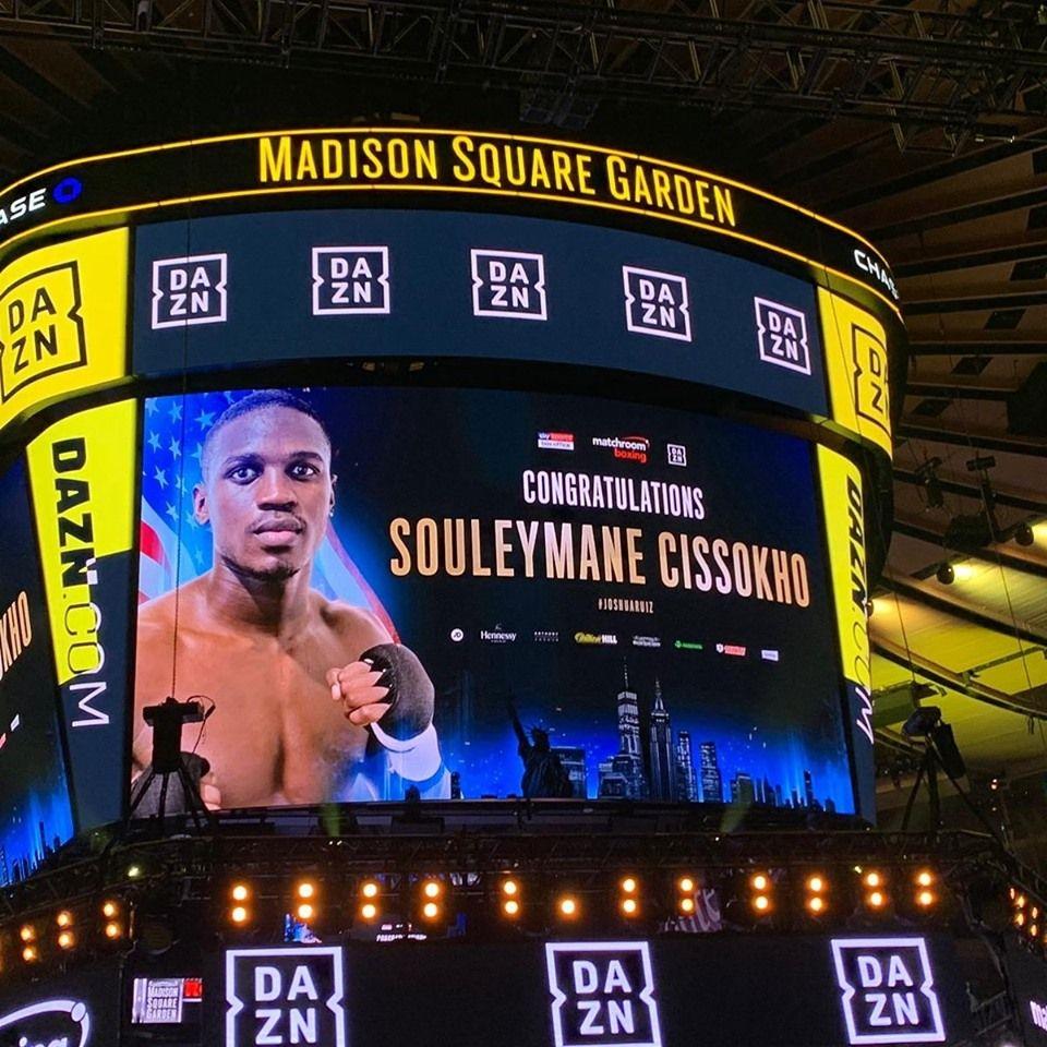 Souleymane Cissokho au Madison Square Garden