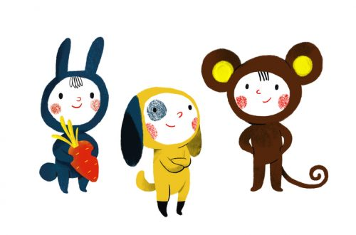 Trois amis d'enfance