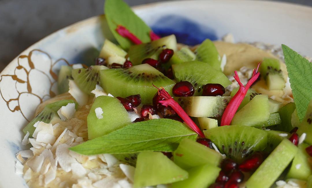 Porridge au kiwi 2