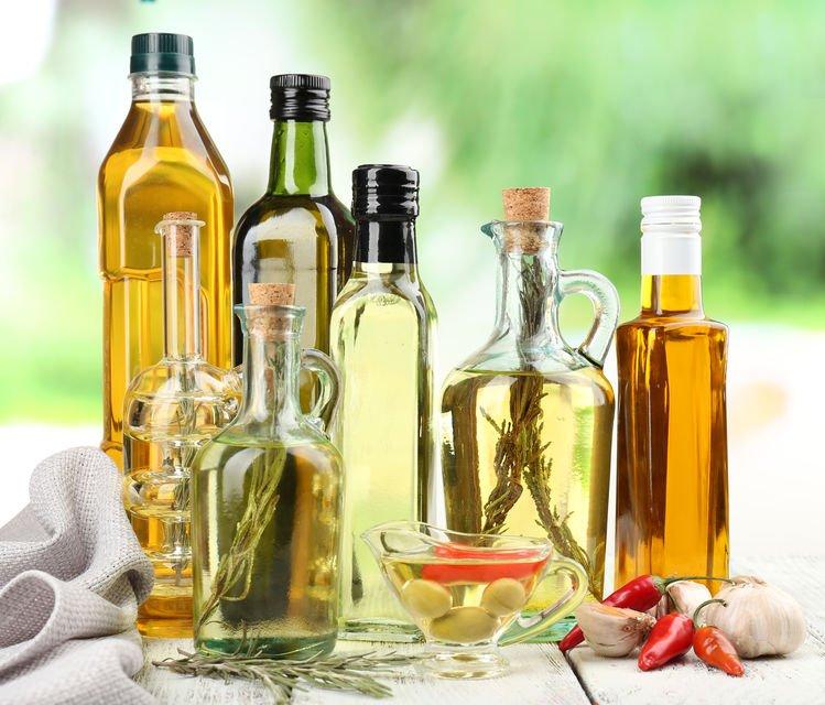 Différentes huiles