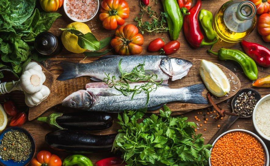 Repas méditerranéen
