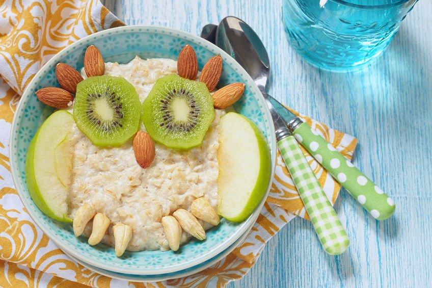 Porridge kiwi et amandes