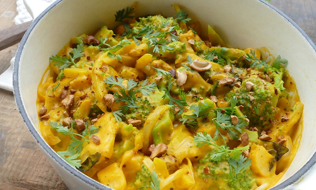 Curry de légumes d'automne au coing 2
