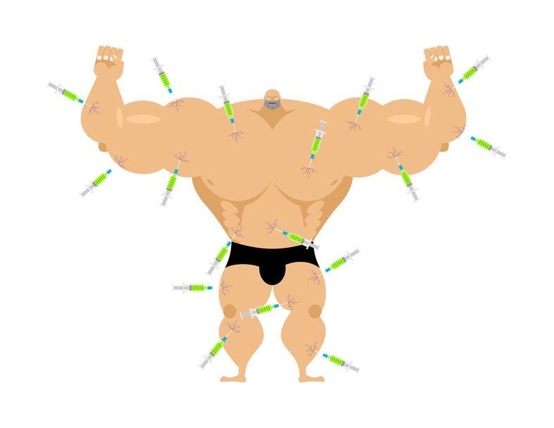 Dopage et bodybuilder