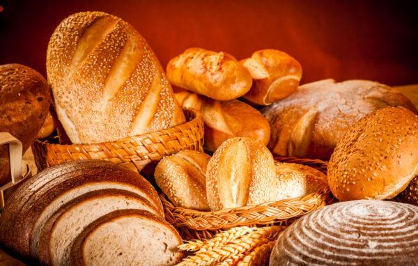 Assortiment de pains frais