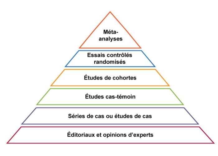 Pyramide études scientifiques