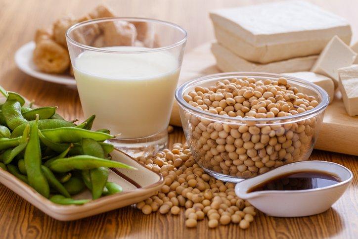 Produits à base de soja