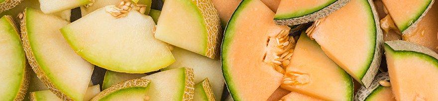 Melons en vrac
